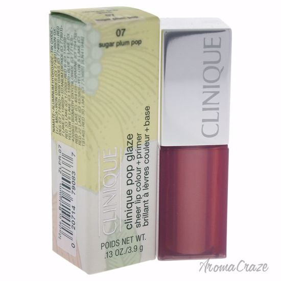 Clinique Pop Glaze Sheer Lip Colour + Primer # 07 Sugar Plum Pop Lipstick for Women 0.13 oz - Lip Makeup | Lip Makeup Products | Best Lipsticks Colors | Lip Cosmetics | Lipsticks and Lip Colors | Lip Gloass | Best Lipsticks Brands | Make up cosmetics | AromaCraze.com