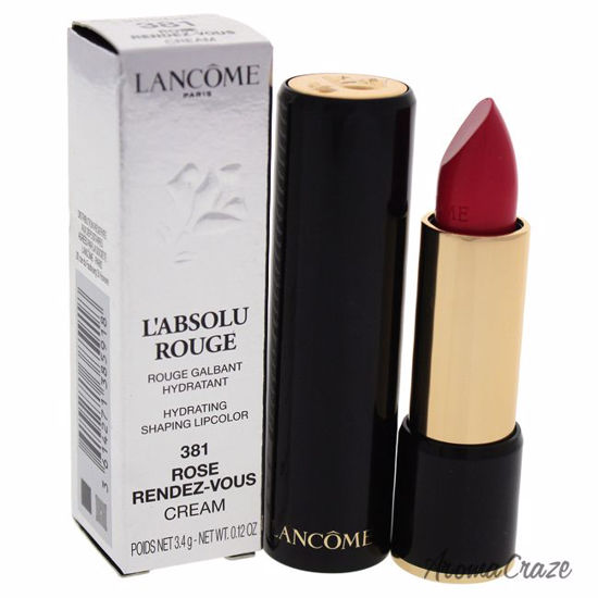 Lancome L'Absolu Rouge Hydrating Shaping Lipcolor # 381 Rose
