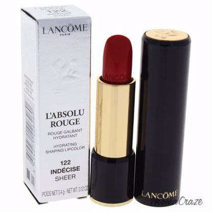 Lancome L'Absolu Rouge Hydrating Shaping Lipcolor # 122 Inde
