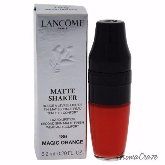 Lancome Matte Shaker Liquid # 186 Magic Orange Lipstick for