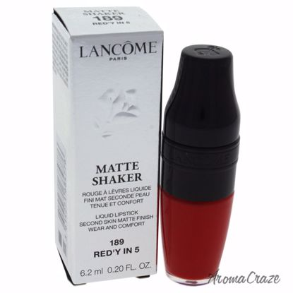 Lancome Matte Shaker Liquid # 189 Red'Y In 5 Lipstick for Wo
