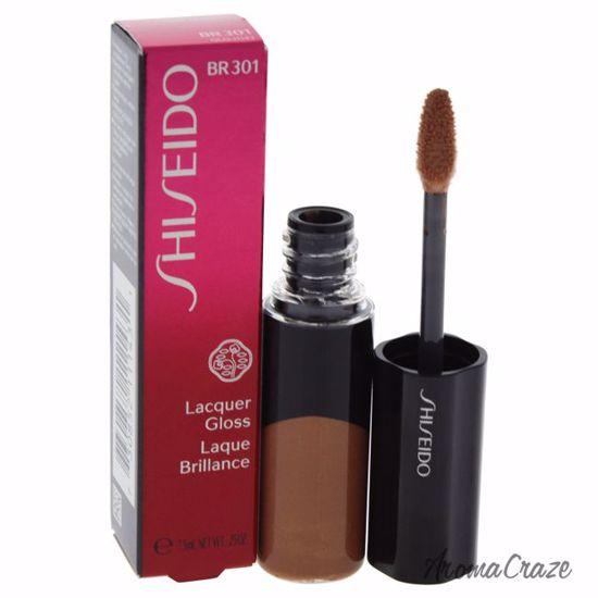Shiseido Lacquer Gloss # BR301 Mocha Lip Gloss for Women 0.2