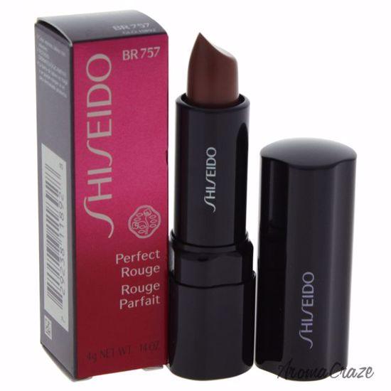 Shiseido Perfect Rouge # BR757 Black Walnut Lipstick for Wom