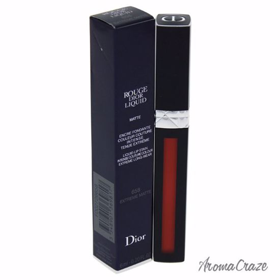 Christian Dior Rouge Liquid Lip Stain # 658 Extreme Matte Lip Gloss for Women 0.2 oz - Lip Makeup | Lip Makeup Products | Best Lipsticks Colors | Lip Cosmetics | Lipsticks and Lip Colors | Lip Gloass | Best Lipsticks Brands | Make up cosmetics | AromaCraze.com
