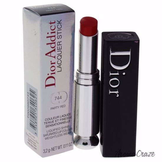 Christian Dior Lacquer Stick # 744 Party Red Lipstick for Wo