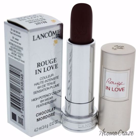 Lancome Rouge In Love High Potency Color # 287N Chocolat Mor