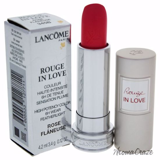 Lancome Rouge In Love High Potency Color # 345B Rose Flaneus