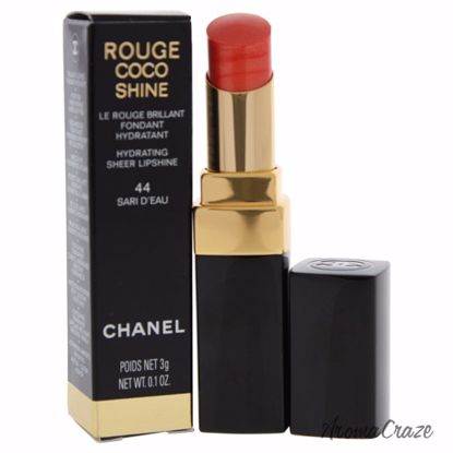 Chanel Rouge Coco Shine Hydrating Sheer Lipshine # 44 Sari D