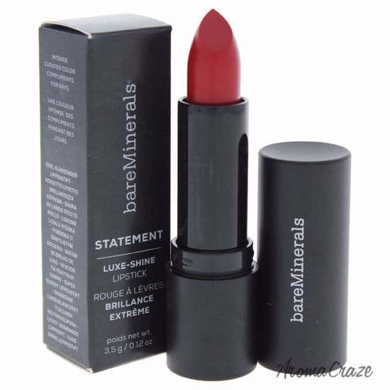 bareMinerals Statement Luxe-Shine Srsly Red Lipstick for Wom