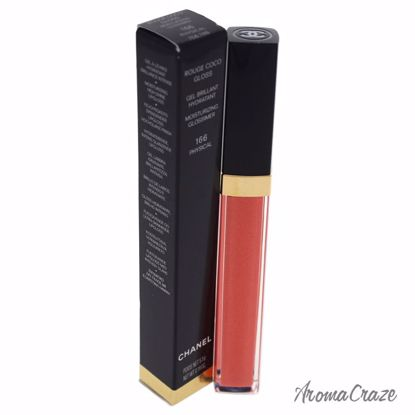 Chanel Rouge Coco Gloss Moisturizing Glossimer # 166 Physica