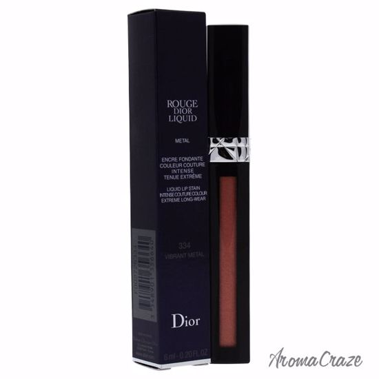 Christian Dior Rouge Dior Liquid Lip Metal # 334 Vibrant Met