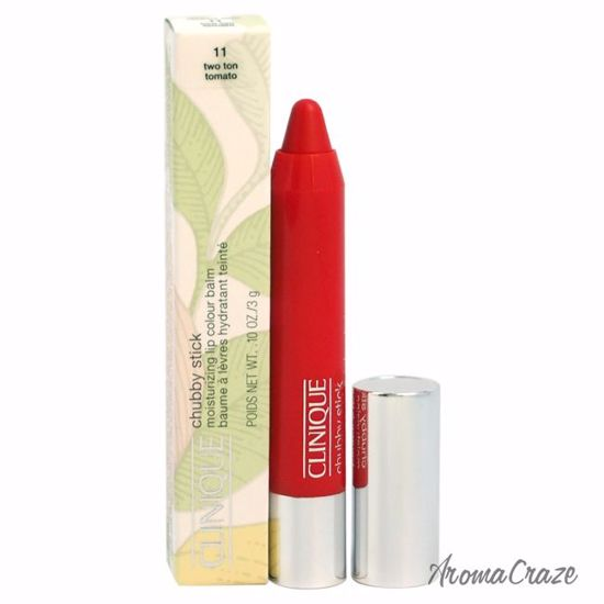 Clinique Chubby Stick Moisturizing Lip Colour Balm # 11 Two Ton Tomato Lipstick for Women 0.1 oz - Lip Makeup | Lip Makeup Products | Best Lipsticks Colors | Lip Cosmetics | Lipsticks and Lip Colors | Lip Gloass | Best Lipsticks Brands | Make up cosmetics | AromaCraze.com