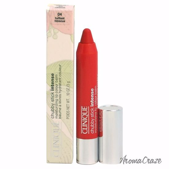 Clinique Chubby Stick Intense Moisturizing Lip Colour Balm # 04 Heftiest Hibiscus Lipstick for Women 0.1 oz - Lip Makeup | Lip Makeup Products | Best Lipsticks Colors | Lip Cosmetics | Lipsticks and Lip Colors | Lip Gloass | Best Lipsticks Brands | Make up cosmetics | AromaCraze.com