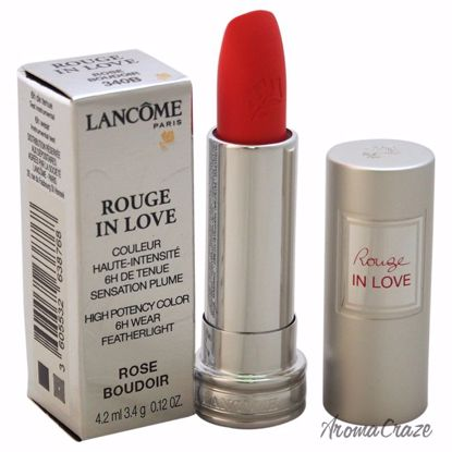 Lancome Rouge In Love High Potency Color Lipstick # 340B Ros