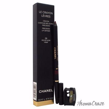 Chanel Le Crayon Levres # 09 Rouge Noir Vamp Lip Liner for W