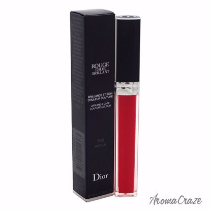 Dior by Christian Dior Rouge Brillant Lip Gloss # 858 Royale