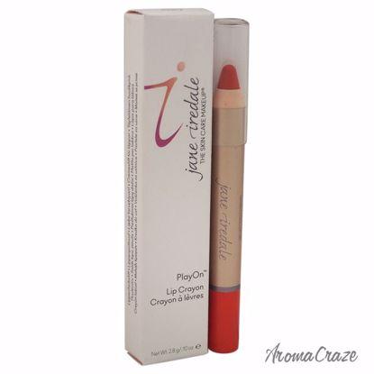 Jane Iredale PlayOn Lip Crayon Saucy Lipstick for Women 0.10