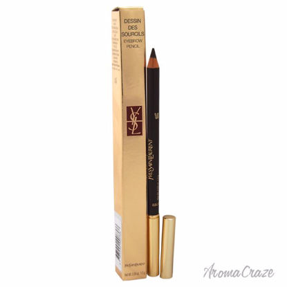 Dessin Des Sourcils Eyebrow Pencil - # 2 Dark brown by Yves Saint Laurent for Women - 0.04 oz Eyebrow Pencil - Eye Makeup | Eye Makeup Kit | Eye Shadow | Eye liner | Eye Mascara | Eye Cosmetics Products | Eye Makeup For Big Eyes | Buy Eye Makeup Online | AromaCraze.com