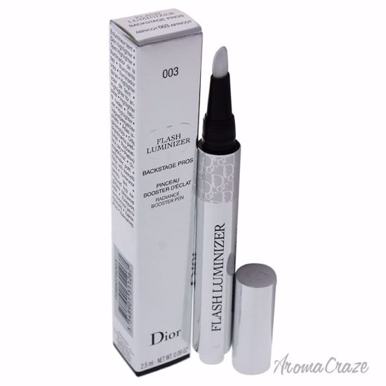 Flash Luminizer Radiance Booster Pen - # 003 Apricot by Christian Dior for Women - 0.09 oz Highlighter - Eye Makeup | Eye Makeup Kit | Eye Shadow | Eye liner | Eye Mascara | Eye Cosmetics Products | Eye Makeup For Big Eyes | Buy Eye Makeup Online | AromaCraze.com