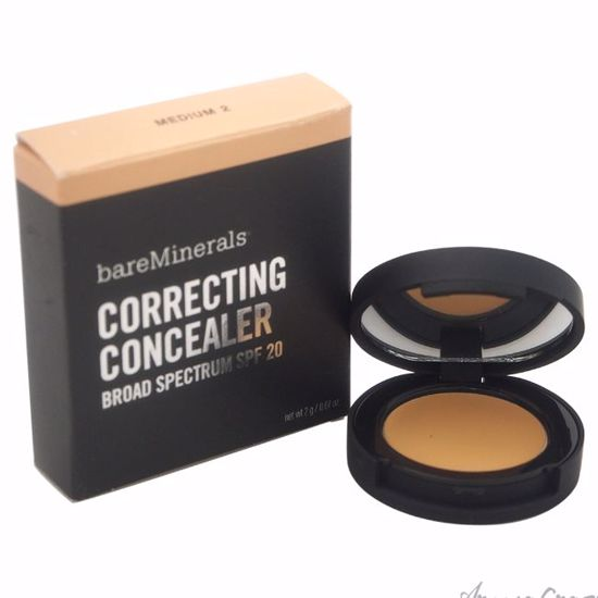 Correcting Concealer SPF 20 - Medium 2 by bareMinerals for Women - 0.07 oz Concealer - Face Makeup Products | Face Cosmetics | Face Makeup Kit | Face Foundation Makeup | Top Brand Face Makeup | Best Makeup Brands | Buy Makeup Products Online | AromaCraze.com