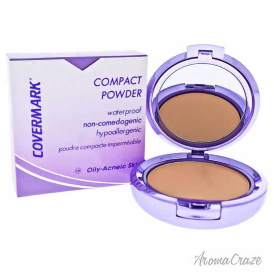 Compact Powder Waterproof - # 1A - Oily-Acneic Skin by Covermark for Women - 0.35 oz Powder - Face Makeup Products | Face Cosmetics | Face Makeup Kit | Face Foundation Makeup | Top Brand Face Makeup | Best Makeup Brands | Buy Makeup Products Online | AromaCraze.com