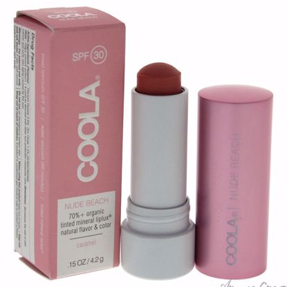 Mineral Liplux SPF 30 Nude Beach - Light Pink by Coola for W