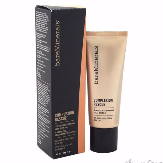 Complexion Rescue Tinted Hydrating Gel Cream SPF 30 - Spice 08 by bareMinerals for Women - 1.18 oz Foundation - Face Makeup Products | Face Cosmetics | Face Makeup Kit | Face Foundation Makeup | Top Brand Face Makeup | Best Makeup Brands | Buy Makeup Products Online | AromaCraze.com