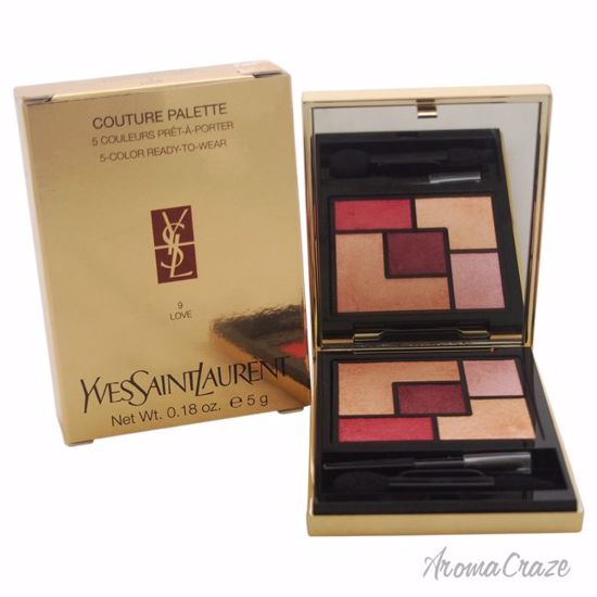 Couture Palette - # 9 Love by Yves Saint Laurent for Women - 0.18 oz Eyeshadow - Eye Makeup | Eye Makeup Kit | Eye Shadow | Eye liner | Eye Mascara | Eye Cosmetics Products | Eye Makeup For Big Eyes | Buy Eye Makeup Online | AromaCraze.com