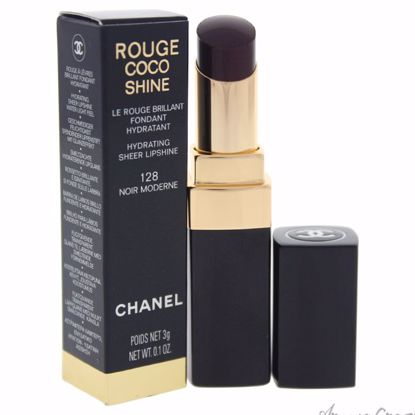 Rouge Coco Shine Hydrating Sheer Lipshine - # 128 Noir Moder