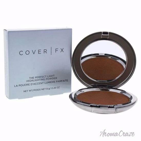 The Perfect Light Highlighting Powder - Candlelight by Cover FX for Women - 0.28 oz Highlighter - Face Makeup Products | Face Cosmetics | Face Makeup Kit | Face Foundation Makeup | Top Brand Face Makeup | Best Makeup Brands | Buy Makeup Products Online | AromaCraze.com