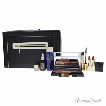 Blockbuster Holiday Make Up by Estee Lauder for Women - 9 Pc Set 0.01oz Pure Color Envy Sculpting Eyeshadow - 16, 0.09oz Pure Color Envy Sculpting Blush - 3, 3.4oz Gentle Eye Makeup Remover, 1oz Advanced Night Repair, 0.24 Revitalizing Supreme Plus, 0.27oz Sumptuous Extreme Mascara, 0.1oz Pure Color Envy Sculpting Gloss, 0.12oz Pure Color Envy Sculpting Lipstick - 2, and Travel Case - Eye Makeup | Eye Makeup Kit | Eye Shadow | Eye liner | Eye Mascara | Eye Cosmetics Products | Eye Makeup For Big Eyes | Buy Eye Makeup Online | AromaCraze.com