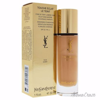 Awakening Foundation SPF 22 - B20 Ivory by Yves Saint Laurent for Women - 1 oz Foundation - Face Makeup Products | Face Cosmetics | Face Makeup Kit | Face Foundation Makeup | Top Brand Face Makeup | Best Makeup Brands | Buy Makeup Products Online | AromaCraze.com