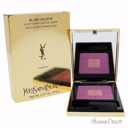 Blush Volupte Heart of Light Powder Blush - # 03 Parisienne by Yves Saint Laurent for Women - 0.31 oz Blush - Face Makeup Products | Face Cosmetics | Face Makeup Kit | Face Foundation Makeup | Top Brand Face Makeup | Best Makeup Brands | Buy Makeup Products Online | AromaCraze.com