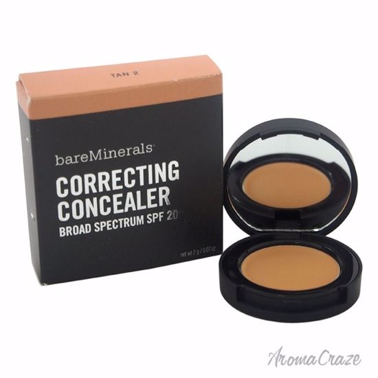 Correcting Concealer SPF 20 - 2 Tan by bareMinerals for Women - 0.07 oz Concealer - Face Makeup Products | Face Cosmetics | Face Makeup Kit | Face Foundation Makeup | Top Brand Face Makeup | Best Makeup Brands | Buy Makeup Products Online | AromaCraze.com