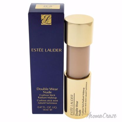 Double Wear Nude Cushion Stick Radiant Makeup - 2C0 Cool Vanilla by Estee Lauder - 0.47 oz Foundation - Face Makeup Products | Face Cosmetics | Face Makeup Kit | Face Foundation Makeup | Top Brand Face Makeup | Best Makeup Brands | Buy Makeup Products Online | AromaCraze.com