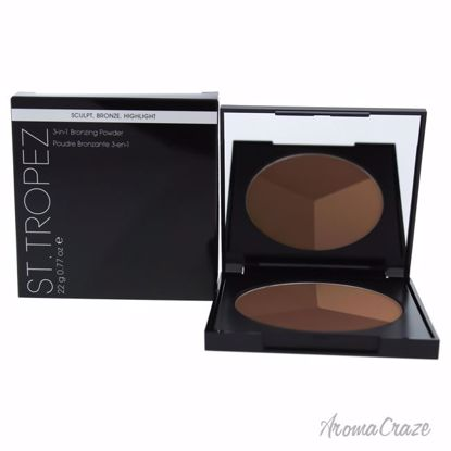 3-in-1 Bronzing Powder by St. Tropez for Women - 0.77 oz Powder - Face Makeup Products | Face Cosmetics | Face Makeup Kit | Face Foundation Makeup | Top Brand Face Makeup | Best Makeup Brands | Buy Makeup Products Online | AromaCraze.com