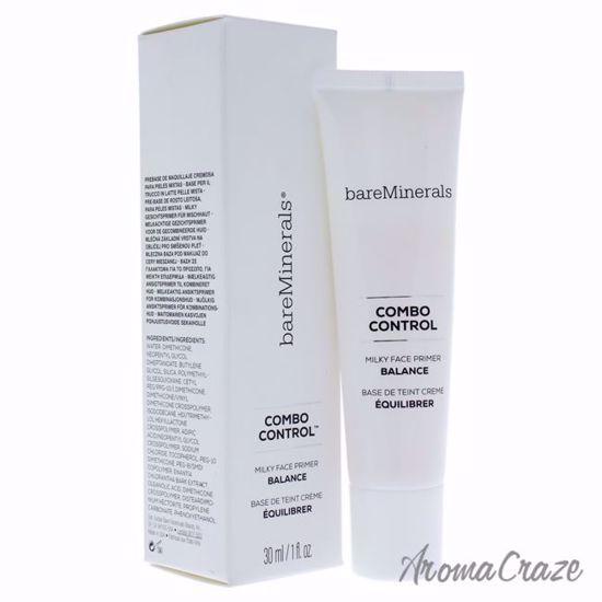 Combo Control Milky Face Primer Balance by bareMinerals - 1 oz Primer - Face Makeup Products | Face Cosmetics | Face Makeup Kit | Face Foundation Makeup | Top Brand Face Makeup | Best Makeup Brands | Buy Makeup Products Online | AromaCraze.com
