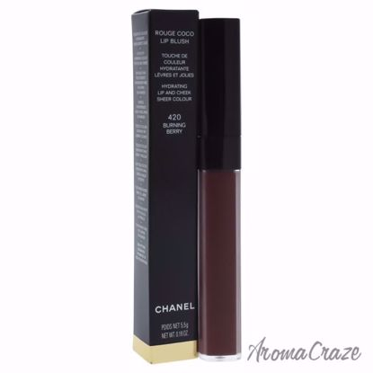 Rouge Coco Lip Blush - 420 Burning Berry by Chanel for Women