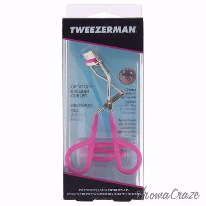 Great Grip Eyelash Curler - # 1047 NPR Neon Pink by Tweezerm