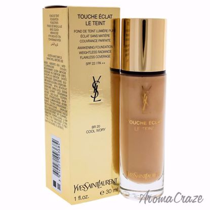 Awakening Foundation SPF 22 - BR20 Cool Beige by Yves Saint Laurent for Women - 1 oz Foundation - Face Makeup Products | Face Cosmetics | Face Makeup Kit | Face Foundation Makeup | Top Brand Face Makeup | Best Makeup Brands | Buy Makeup Products Online | AromaCraze.com