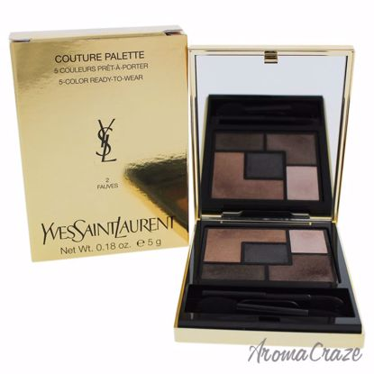 Couture Palette - 2 Fauves by Yves Saint Laurent for Women - 0.18 oz Eye Shadow - Eye Makeup | Eye Makeup Kit | Eye Shadow | Eye liner | Eye Mascara | Eye Cosmetics Products | Eye Makeup For Big Eyes | Buy Eye Makeup Online | AromaCraze.com