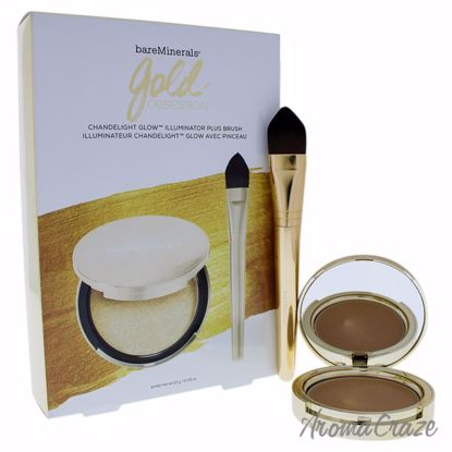Gold Obsession Set by bareMinerals for Women - 2 Pc Set 0.35