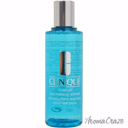 Rinse Off Eye Makeup Solvent by Clinique for Unisex - 4.2 oz
