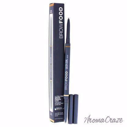 BrowFood Ultra Fine Brow Pencil Duo - Dark Blonde by LashFoo