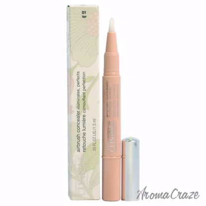 Airbrush Concealer - 01 Fair by Clinique for Women - 0.05 oz Concealer - Face Makeup Products | Face Cosmetics | Face Makeup Kit | Face Foundation Makeup | Top Brand Face Makeup | Best Makeup Brands | Buy Makeup Products Online | AromaCraze.com