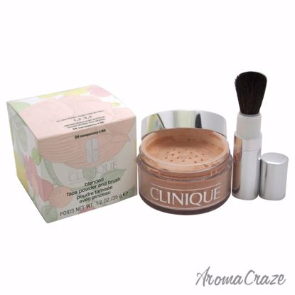Blended Face Powder and Brush - # 04 Transparency 4 (M)- All Skin Types by Clinique for Women - 1.2 oz Powder - Face Makeup Products | Face Cosmetics | Face Makeup Kit | Face Foundation Makeup | Top Brand Face Makeup | Best Makeup Brands | Buy Makeup Products Online | AromaCraze.com