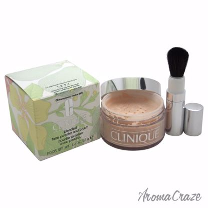 Blended Face Powder and Brush - # 08 Transparency Neutral (MF)- All Skin Types by Clinique for Women - 1.2 oz Powder - Face Makeup Products | Face Cosmetics | Face Makeup Kit | Face Foundation Makeup | Top Brand Face Makeup | Best Makeup Brands | Buy Makeup Products Online | AromaCraze.com