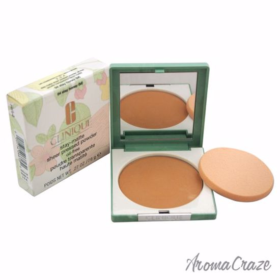 Stay-Matte Sheer Pressed Powder - 04 Stay Honey M - Dry Combination To Oily by Clinique for Women - 0.27 oz Powder - Face Makeup Products | Face Cosmetics | Face Makeup Kit | Face Foundation Makeup | Top Brand Face Makeup | Best Makeup Brands | Buy Makeup Products Online | AromaCraze.com