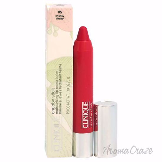 Chubby Stick Moisturizing Lip Colour Balm - # 05 Chunky Cherry by Clinique for Women - 0.1 oz Lipstick - Lip Makeup | Lip Makeup Products | Best Lipsticks Colors | Lip Cosmetics | Lipsticks and Lip Colors | Lip Gloass | Best Lipsticks Brands | Make up cosmetics | AromaCraze.com