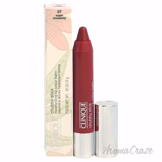 Chubby Stick Moisturizing Lip Colour Balm - 07 Super Strawberry by Clinique for Women - 0.1 oz Lipstick - Lip Makeup | Lip Makeup Products | Best Lipsticks Colors | Lip Cosmetics | Lipsticks and Lip Colors | Lip Gloass | Best Lipsticks Brands | Make up cosmetics | AromaCraze.com